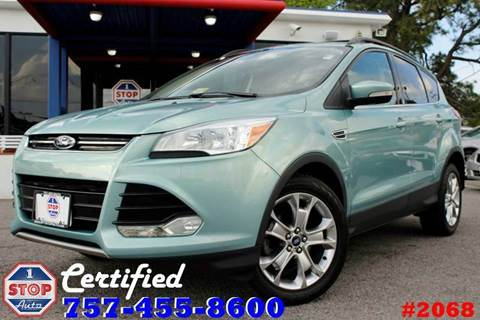 2013 Ford Escape for sale at 1 Stop Auto in Norfolk VA