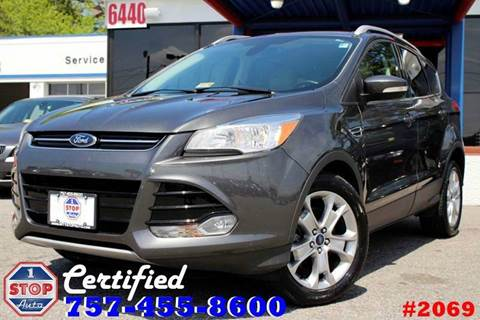 2015 Ford Escape for sale at 1 Stop Auto in Norfolk VA
