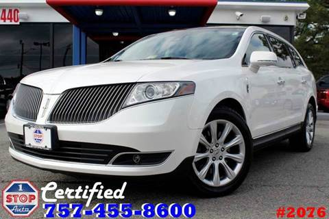 2013 Lincoln MKT for sale at 1 Stop Auto in Norfolk VA