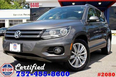 2012 Volkswagen Tiguan for sale at 1 Stop Auto in Norfolk VA