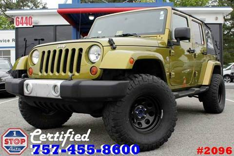 2008 Jeep Wrangler Unlimited for sale at 1 Stop Auto in Norfolk VA