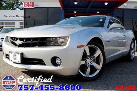 Chevrolet Camaro For Sale In Norfolk Va 1 Stop Auto