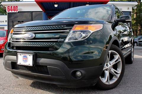 2013 Ford Explorer for sale at 1 Stop Auto in Norfolk VA