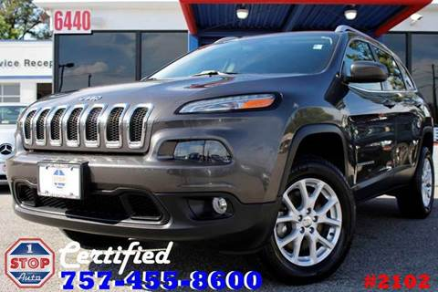 2014 Jeep Cherokee for sale at 1 Stop Auto in Norfolk VA