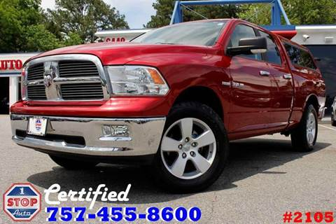 2010 Dodge Ram Pickup 1500 for sale at 1 Stop Auto in Norfolk VA