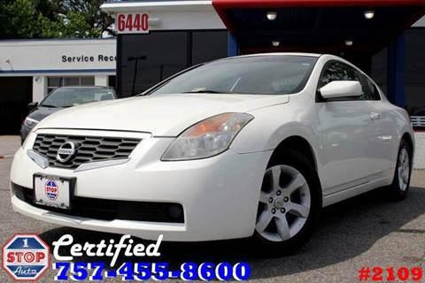2008 Nissan Altima for sale at 1 Stop Auto in Norfolk VA