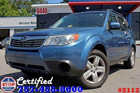 2010 Subaru Forester for sale at 1 Stop Auto in Norfolk VA