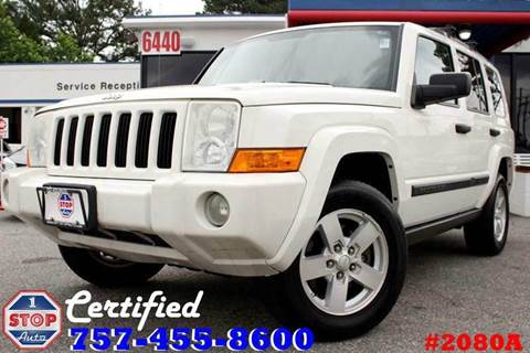 2006 Jeep Commander for sale at 1 Stop Auto in Norfolk VA