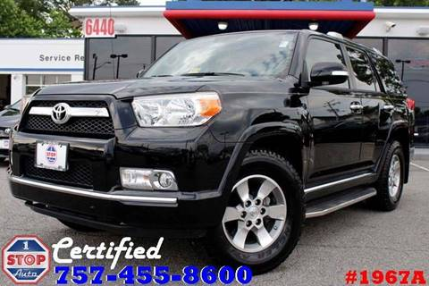 2012 Toyota 4Runner for sale at 1 Stop Auto in Norfolk VA
