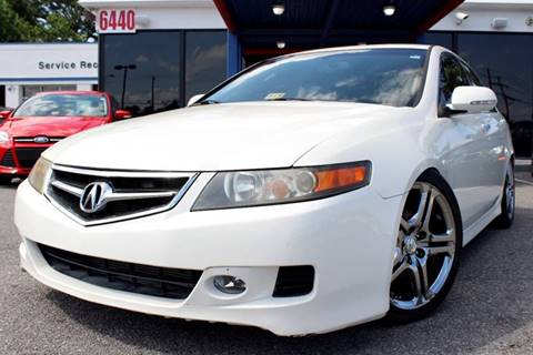 2006 Acura TSX for sale at 1 Stop Auto in Norfolk VA