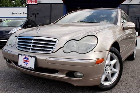 2002 Mercedes-Benz C-Class for sale at 1 Stop Auto in Norfolk VA
