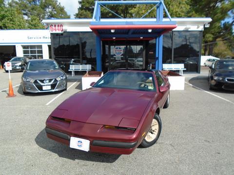 1987 Pontiac Firebird for sale in Norfolk, VA