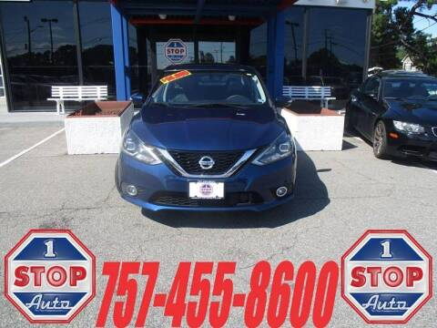 2016 Nissan Sentra for sale at 1 Stop Auto in Norfolk VA