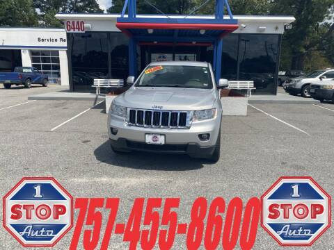 2013 Jeep Grand Cherokee for sale at 1 Stop Auto in Norfolk VA