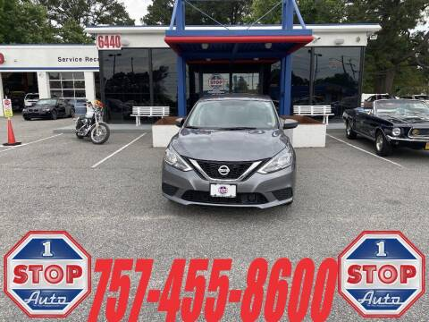 2019 Nissan Sentra for sale at 1 Stop Auto in Norfolk VA