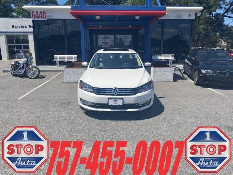 2014 Volkswagen Passat for sale at 1 Stop Auto in Norfolk VA