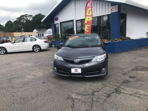 2013 Toyota Camry for sale at 1 Stop Auto in Norfolk VA