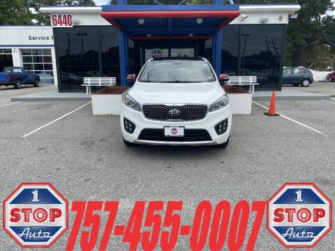 2016 Kia Sorento for sale at 1 Stop Auto in Norfolk VA