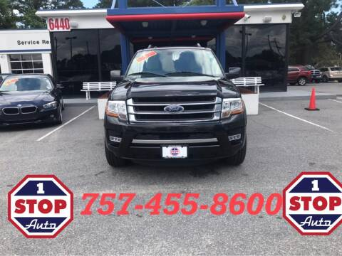 2015 Ford Expedition for sale at 1 Stop Auto in Norfolk VA