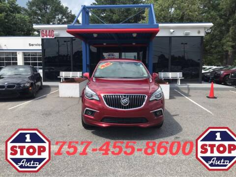 2017 Buick Envision for sale at 1 Stop Auto in Norfolk VA