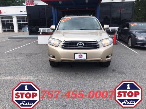 2008 Toyota Highlander for sale at 1 Stop Auto in Norfolk VA