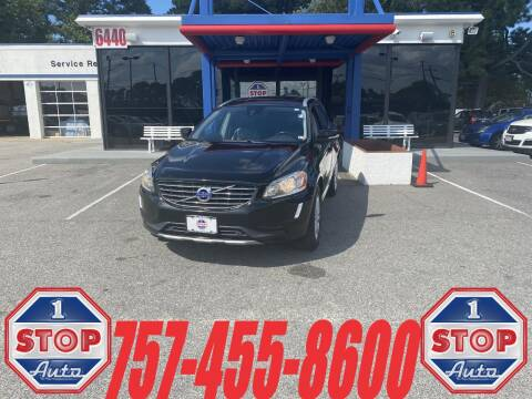 2016 Volvo XC60 for sale at 1 Stop Auto in Norfolk VA