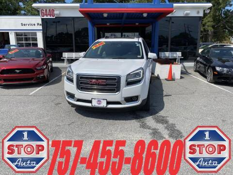 2016 GMC Acadia for sale at 1 Stop Auto in Norfolk VA