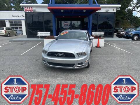 2014 Ford Mustang for sale at 1 Stop Auto in Norfolk VA