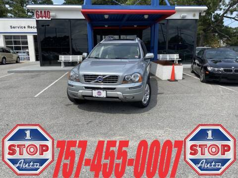 2013 Volvo XC90 for sale at 1 Stop Auto in Norfolk VA