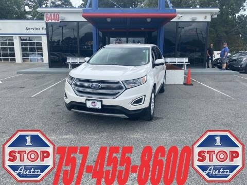 2016 Ford Edge for sale at 1 Stop Auto in Norfolk VA