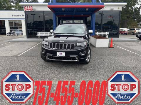 2014 Jeep Grand Cherokee for sale at 1 Stop Auto in Norfolk VA