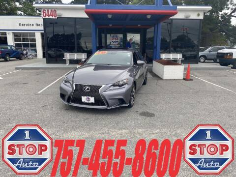 2014 Lexus IS 350 for sale at 1 Stop Auto in Norfolk VA