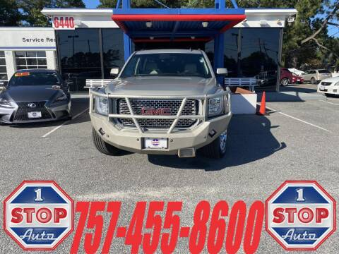 2015 GMC Yukon XL for sale at 1 Stop Auto in Norfolk VA