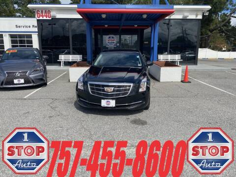 2016 Cadillac ATS for sale at 1 Stop Auto in Norfolk VA