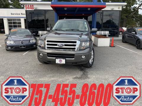 2014 Ford Expedition EL for sale at 1 Stop Auto in Norfolk VA