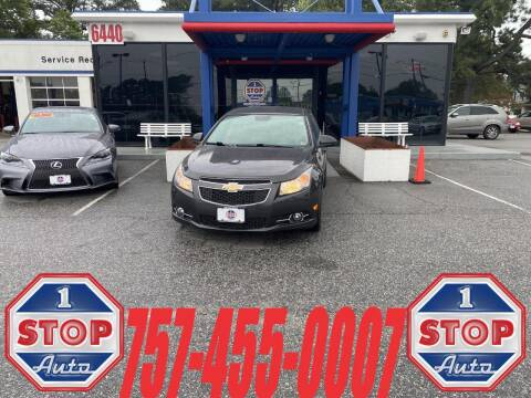 2014 Chevrolet Cruze for sale at 1 Stop Auto in Norfolk VA