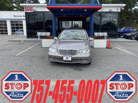 2006 Mercedes-Benz C-Class for sale at 1 Stop Auto in Norfolk VA