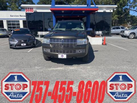 2008 Lincoln Navigator for sale at 1 Stop Auto in Norfolk VA