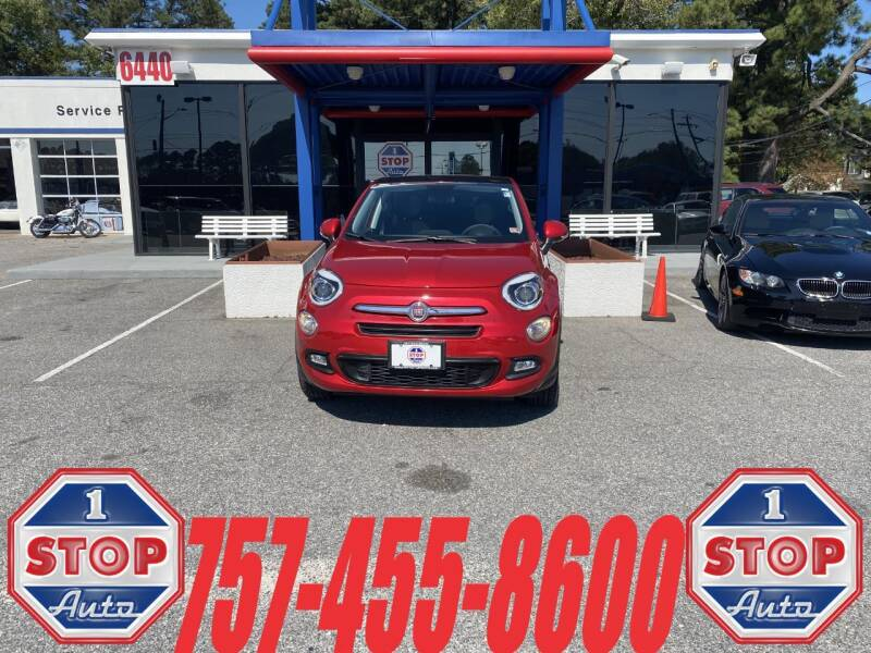 2017 FIAT 500X for sale at 1 Stop Auto in Norfolk VA