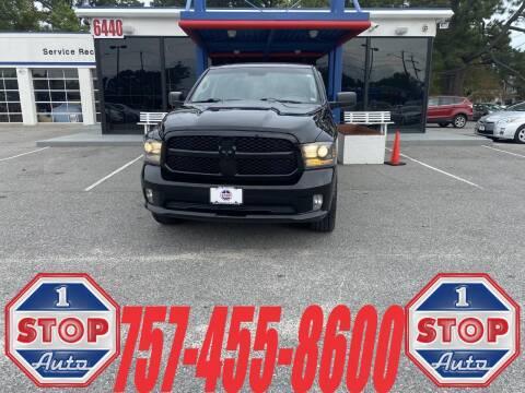 2015 RAM Ram Pickup 1500 for sale at 1 Stop Auto in Norfolk VA