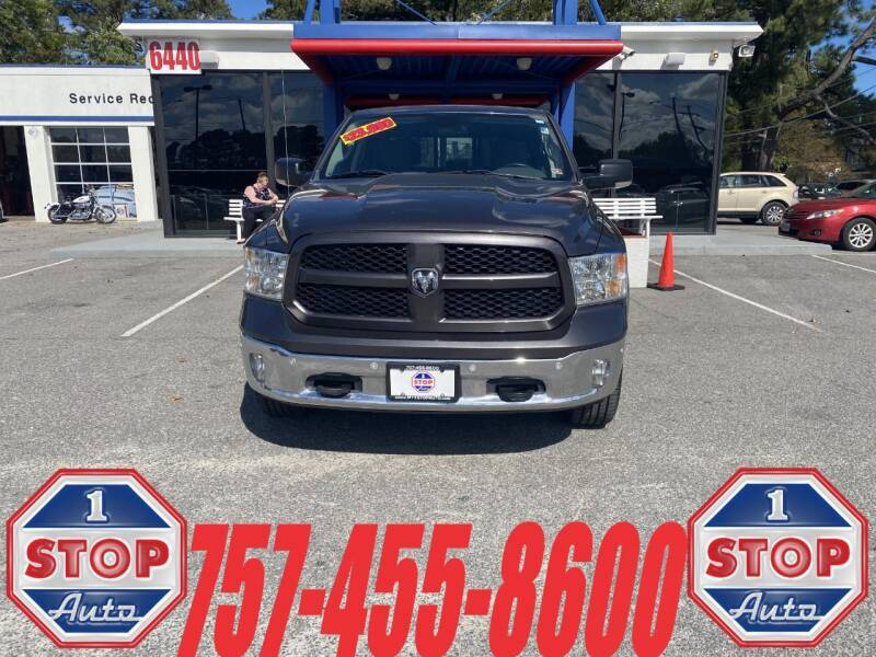 2015 RAM Ram Pickup 1500 for sale at 1 Stop Auto in Norfolk VA
