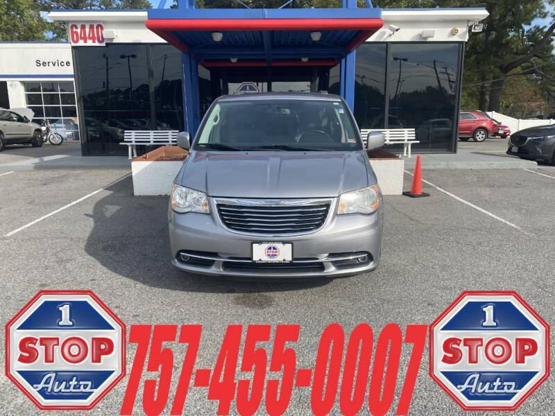 2013 Chrysler Town and Country for sale at 1 Stop Auto in Norfolk VA