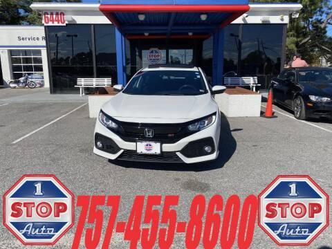 2019 Honda Civic for sale at 1 Stop Auto in Norfolk VA