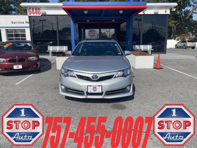 2012 Toyota Camry for sale at 1 Stop Auto in Norfolk VA