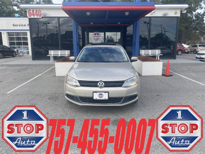 2013 Volkswagen Jetta for sale at 1 Stop Auto in Norfolk VA