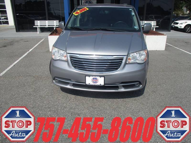 2014 Chrysler Town and Country for sale at 1 Stop Auto in Norfolk VA