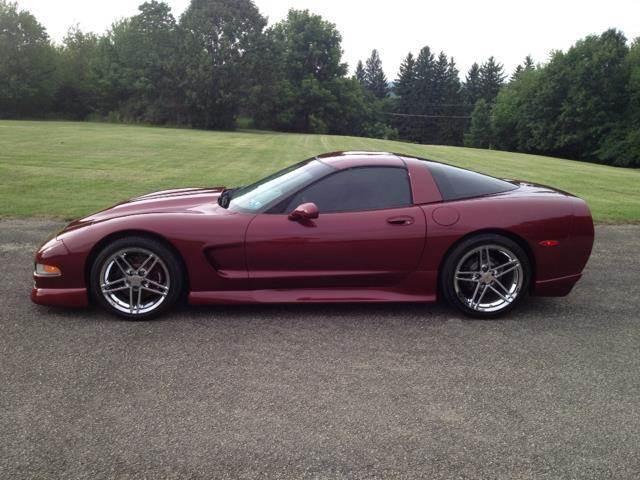 1998 Chevrolet Corvette for sale at Hutchys Auto Sales & Service in Loyalhanna PA