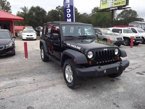 2012 Jeep Wrangler Unlimited for sale in Phenix City, AL