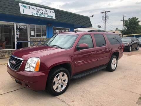 2007 GMC Yukon XL for sale at Island Auto Sales in Colorado Springs CO