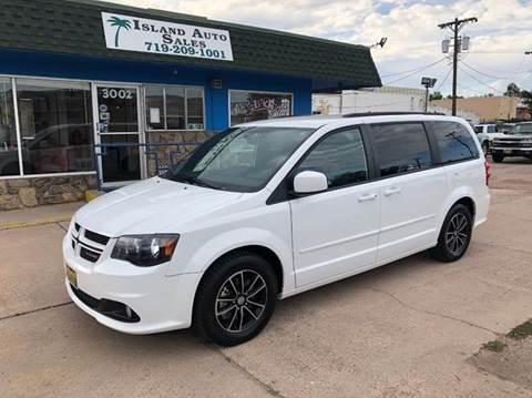 2017 Dodge Grand Caravan for sale at Island Auto Sales in Colorado Springs CO